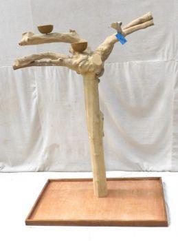 JAVA TREE - LARGE - NATURAL HARDWOOD PARROT PLAYSTAND BL60800