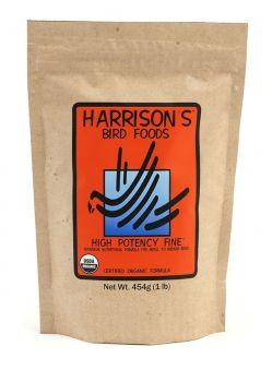 HARRISON`S HIGH POTENCY  FINE  - ORGANIC BIRD FOOD 50g Sample