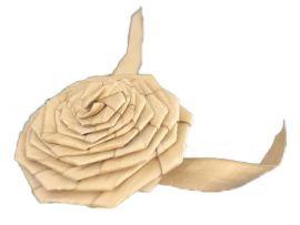 Large Buri Rosette Chewer
