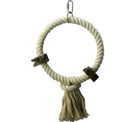 Single Rope Hoop With Pepper Wood