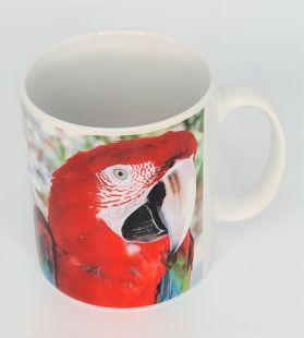 Mug Greenwing Macaw