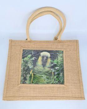 Jute Bag Natural Amazon Design