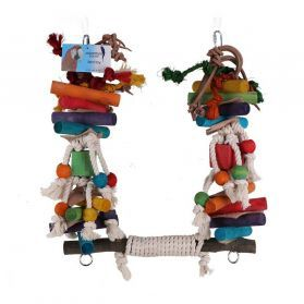Rope Super Swing - Large Parrot