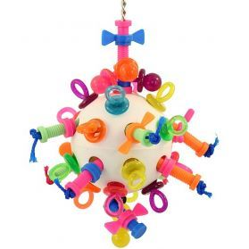 Nuts Bolts And Binkys Large Bird Toy