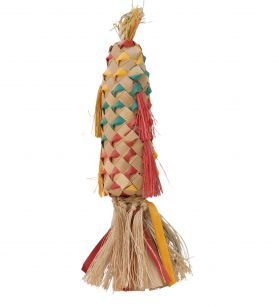 Coloured Pinata Spiked - Natural Toy for Parrots - Medium