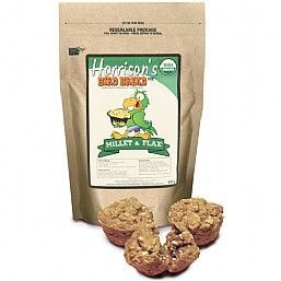 Harrison`s Bird Bread Mix Millet & Flax Organic Parrot Treat 255g