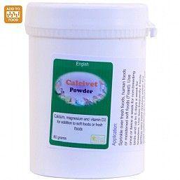 Calcivet Calcium On Food Powder 80g