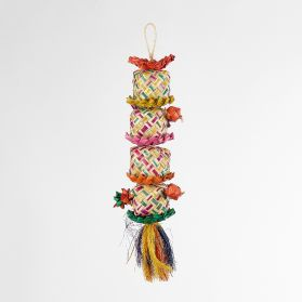 Flower Tower Medium Shredding Bird Toy