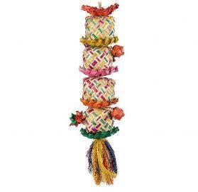 Flower Tower Medium Shredding Bird Toy