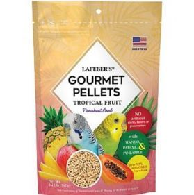 Lafeber Gourmet Pellets - Tropical Fruit - Budgie Food 567g