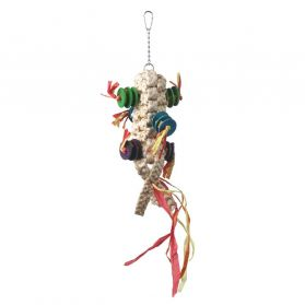 Macrame Chew Natural Bird Toy