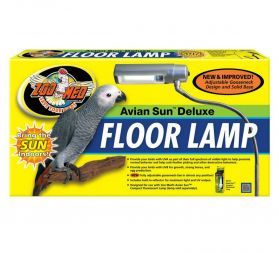 ZooMed Avian Sun UV Floor Lamp Starter Kit - Includes Bulb!