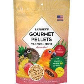 Lafeber Gourmet Pellets - Tropical Fruit - Conure Food 567G