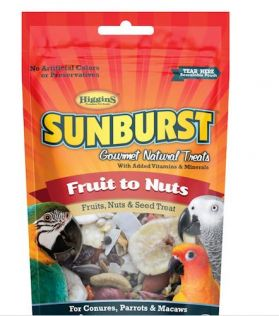 Higgins Sunburst Fruit To Nuts & Seed Treat 5oz