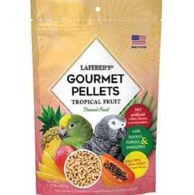 Lafeber Gourmet Pellets - Tropical Fruit - Parrot Food 567G