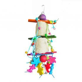 Galactic Shuttle Small bird Loofah Toy
