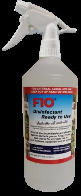 F10SC Disinfectant RTU Trigger Spray 1 Litre