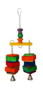 Dingle Dangler Medium Wood Bird Toy