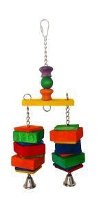 Dingle Dangler Medium Wood Bird Toy
