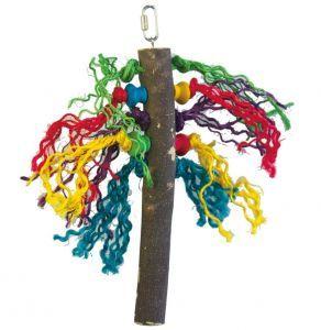 Preen Me Wood & Rope Bird Toy