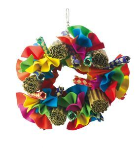 Fuzzy Shred Medium Bird Toy