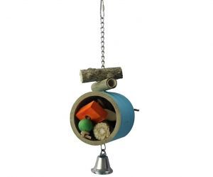 Chunky Bagel Foraging Bird Toy - Medium Bird