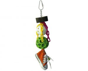 Sneaker Whiffle Bird Toy