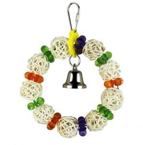 Wicker Wreath Shredding Medium Bird Toy