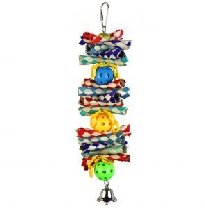 Woven Whiffles Small Bird Toy