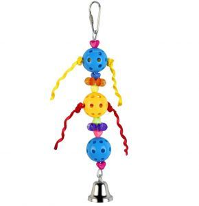 Whiffle Ball Tower Small Bird Toy