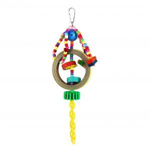 Cosmic Bagels Small Bird Bagel & Bead Toy