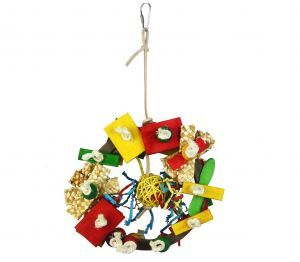 Planet Parrot Medium Bird Toy