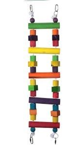 Block Bridge Ladder Medium Bird Toy