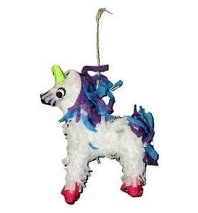 Polly Wanna Unicorn Pinata Parrot Toy With Treats