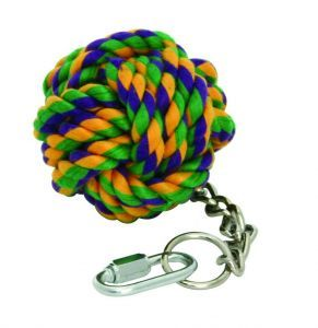 Nuts For Knots Hanging Rope Ball - Medium Bird