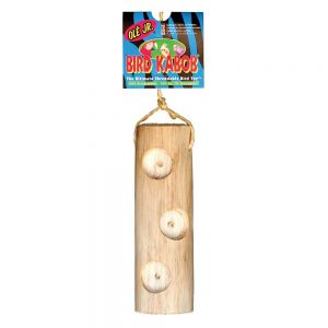Ye Ole Junior Bird Kabob - Natural Chew Toy for Parrots