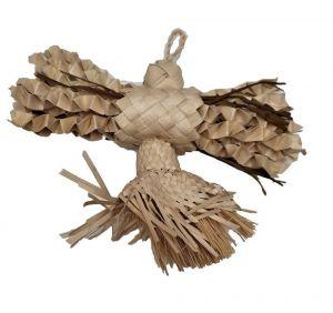 Snowflake Natural Shredding Bird Toy