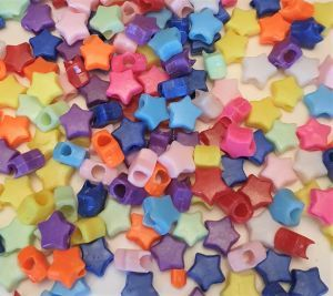 Star Beads Pack 100 Toy Making Part