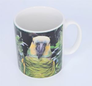 Gift Mug Amazon Parrot Design