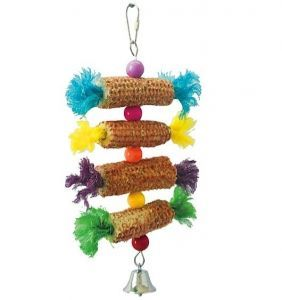 Corn Steps Small Bird Toy