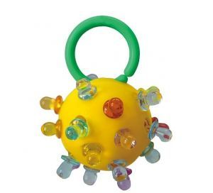 Binky Ball Ring Medium Bird Foot Toy