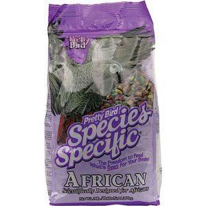 Pretty Bird African Grey Special Bird Food 3lb