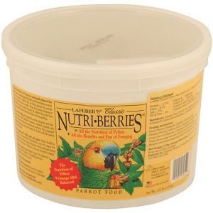 Lafeber NutriBerries Original Complete Parrot Food 1.47kg