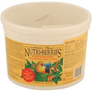 Lafeber NutriBerries Original Complete Parrot Food 1.47kg