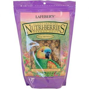Lafeber NutriBerries Sunny Orchard Complete Parrot Food 1.36kg