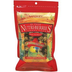 Lafeber NutriBerries El Paso Complete Parrot Food 284g