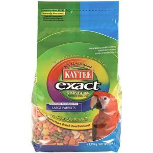 Kaytee Exact Rainbow Chunky Complete Food for Large Parrots 2.5lb