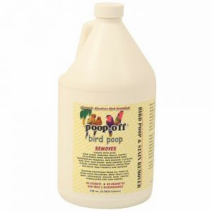 Poop-Off Bird Clean Up Liquid - 3 Refil 128oz