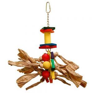 Zoo Max Medium Paper Rope Bird Toy