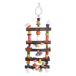 Lagoon Ladder 58cm Wood Bird Toy
